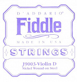 D'Addario J9003 D Fiddle 4/4 Medium