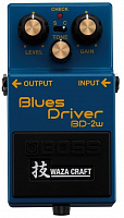 Boss BD2W Blues Driver Waza Craft