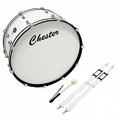 "Marching Bass Drum Chester 24"" (F893120)"